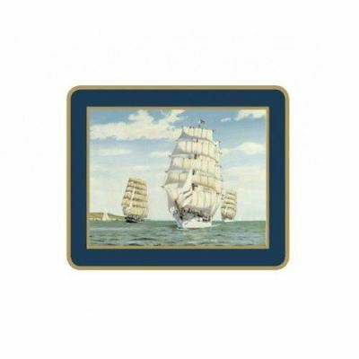 Lady Clare English Coasters - Tall Ships - Set of 6