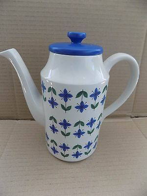 """Midwinter 'Roselle' Coffee Pot. Vintage / Retro. Approx 8"""" Tall. 1960's / 70's."""