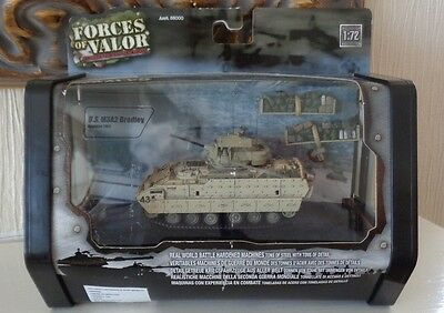 Boxed Unimax Forces of Valour 1/72 Scale US M3A2 Bradley Tank in Bagdad 2003 MIB