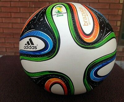 Christmas Gift Adidas Brazuca  Fifa World Cup Football Ball Size 5 soccer ball