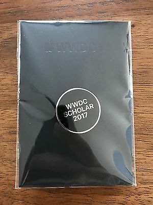 Apple WWDC 2017 Scholar Pin - Rare, Limited, Unopened