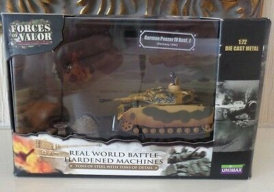 Boxed Unimax Forces of Valour 1/72 Scale WW2 German Army Panzer Germany 1944 MIB