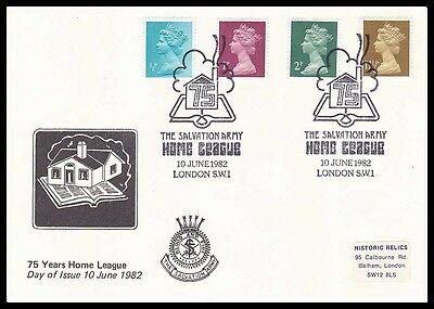 UK 1982 - Salvation Army - FOUR Home League 75th Anniversary!!
