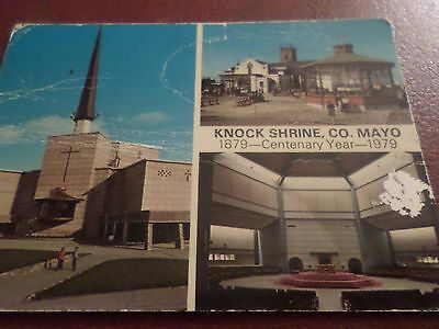 1982 John Hinde Postcard Knock Shrine Co. Mayo  Ireland