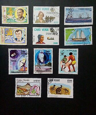 Cape Verde stamps 1980's
