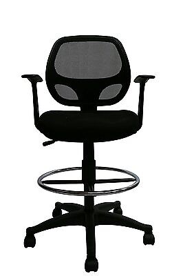 Mid-Back Black Mesh Computer Chair Task Desk Chair Ergonomic Chair
