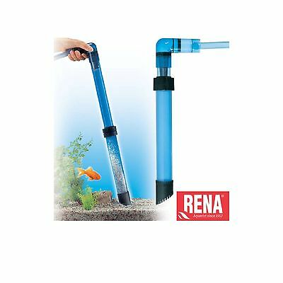 Rena Telescopic Gravel Cleaner Vacuum Aquarium Fish