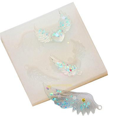 Angel Wings Pendant Silicone Mold DIY Resin Jewelry Pendant Necklace Mould Tools