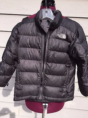 Boys Youth North Face Down 550 coat Size S 7/8