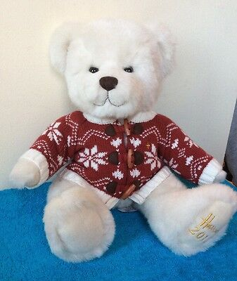 HARRODS 2012 Chester Teddy Bear EXCELLENT Cond