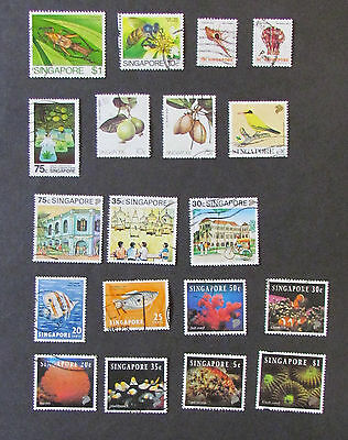 Singapore Postage Stamps 18 used unmounted