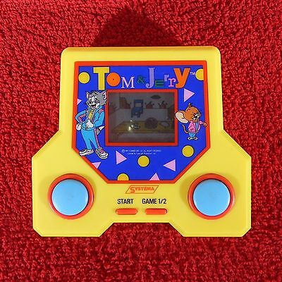 80 90s SYSTEMA ELECTRONIC HANDHELD GAME RETRO LCD TOM & JERRY