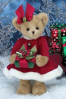 Bearington Bears Preston Presents and Proper Presents Christmas - Retired - NWT