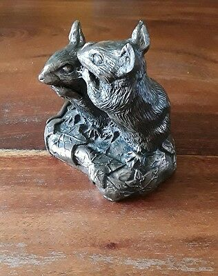 purbeck designs bronze mice - swanage