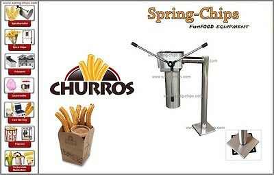 Profi Churros Maschine Churros-maschine FRITEUSE GAS