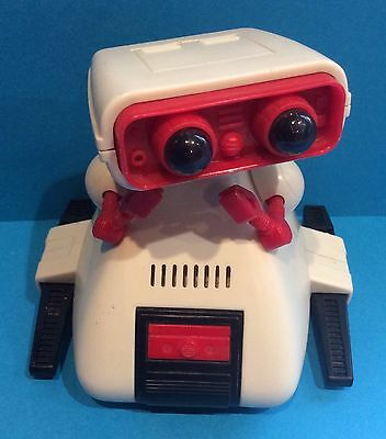 Vintage Tomy Dingbot OMS-B Working Robot Companion 1980s Retro Toy Collectable