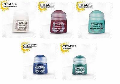 Citadel Technical Paints - All Colors Warhammer 40.000 40K - Games Workshop