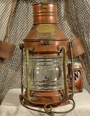 Tung Woo Vintage Not Under Command / Anchor Ship Lantern