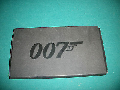 James Bond Playing Cards 3 Box Set 007 Black Logo Box