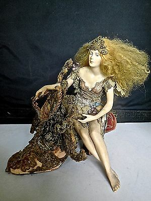 Exquisite OOAK Large Fantasy Doll On Shoe By Stephanie BLYTHE & Susan SNODGRASS