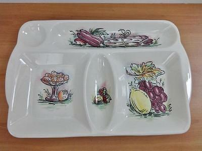 Vintage Beswick Ware Pottery hors d'oeuvres / Tapas / Nibbles Dish