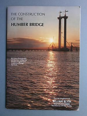The Construction Of The Humber Bridge P/b 1981 1St Complimentary Copy