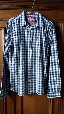 """Chemise homme slimfit """"Superdry"""" taille M."""