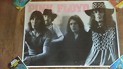 Pink Floyd Large Poster Rare Group Band Prog Rock excellent condition