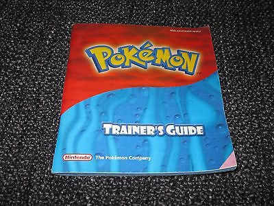 Pokemon Ruby & Sapphire - Nintendo Gameboy Advance Gba Booklet Manual Only