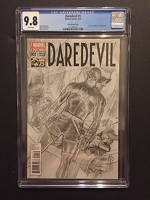 Daredevil 1 !! Cgc 9.8 !! Ross Sketch !! Less Than 500 Exist !!