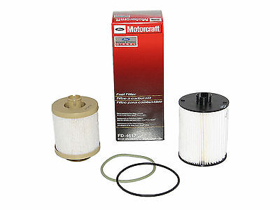 Motorcraft FD4617 Fuel Filter Ford F350 F450 Super Duty 6.4 FD-4617 8C3Z-9N184-C