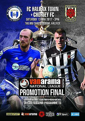 2017 Vanarama National League North Play Off Final Fc Halifax Town V Chorley T/s