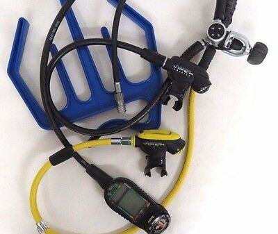 Oceanic Pro Plus Smart Glo Dive Computer With Dacor Viper Octopus Special Hangar