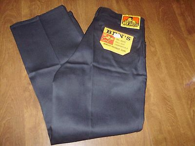 VINTAGE DEADSTOCK BEN DAVIS ORIGINAL WORK PANTS UNION MADE in THE USA 32 x30