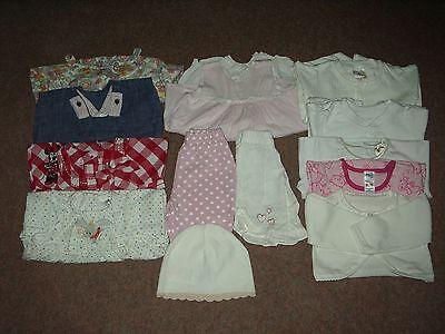 Baby Girl 0/3 Months Summer Clothes Bundle inc coat/20 Items Next/Disney/Benneto