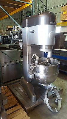 Used M802 Hobart 80Qt Mixer With Attachments & Bowl Truck Includes Free Shipping