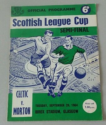 1964 Celtic v Morton League Cup S/F