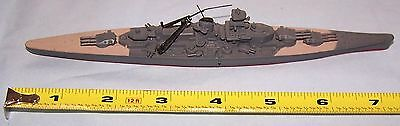 2 TRIANG HORNBY MINIC SHIPS MODEL M 745 Scharnhorst M 744 Yamato Tri-ang