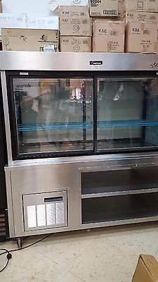 Used 5Pc72N Delfield Refrigerated Pass Thru Diner Display Includes Free Shipping