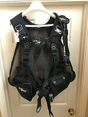 Used Aqualung BCD with Air Source Alt Air- sized Large