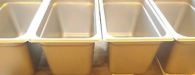 """3 Compartment Sink Set  """"Small Basins Only"""" set of (4)"""