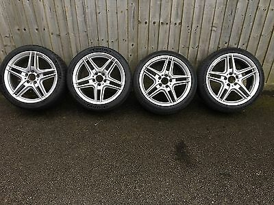 """Mercedes 18"""" Alloy Wheels And Continental/Michelin Tyres 5x112"""