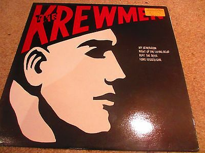 "The Krewmen - My Generation 12"" EP  Psychobilly  EX/EX Rare Insert"