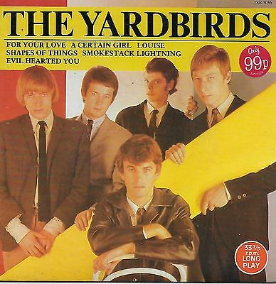 """THE YARDBIRDS Scoop33 7"""" album FOR YOUR LOVE 6 tracks PICTURE COVER Louise LIVE"""