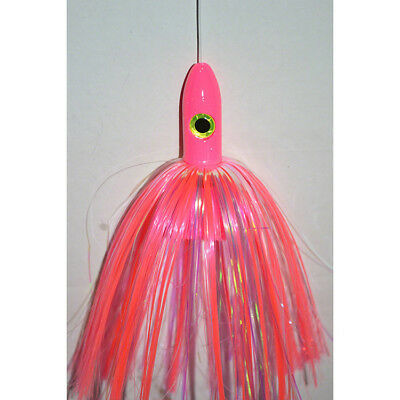 "Blue Water Candy Bullet Jag, 3-1/4 oz., 9"", Pink Skirt/Pink Head, 55001"