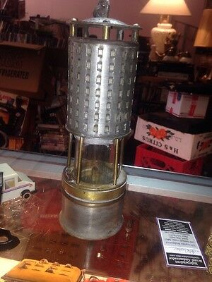 Miners Permissible Safety Lamp Coal Mining Koehler Lantern No. 20A-AWESOME