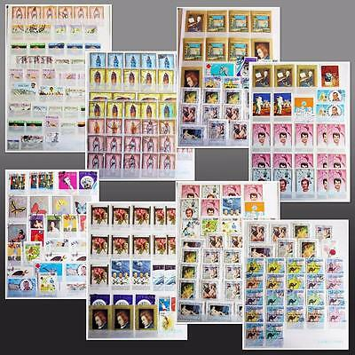 Oman Mnh & Used Collection Good Range Of Thematics **see Scans**