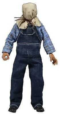 """Friday the 13th Part 2 -  8"""" Retro Style - Jason Voorhees Clothed Figure - NECA"""