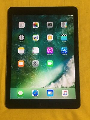  Apple Ipad Air 2 A1566 Space Grey 64 Gb Wifi Working No Touch Id Difetto