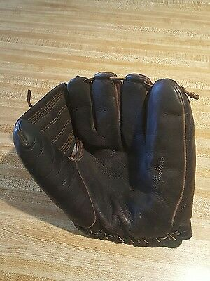 Vintage 1940s MacGregor Leather Baseball Glove G111 Bobby Doerr HOF Full Web
